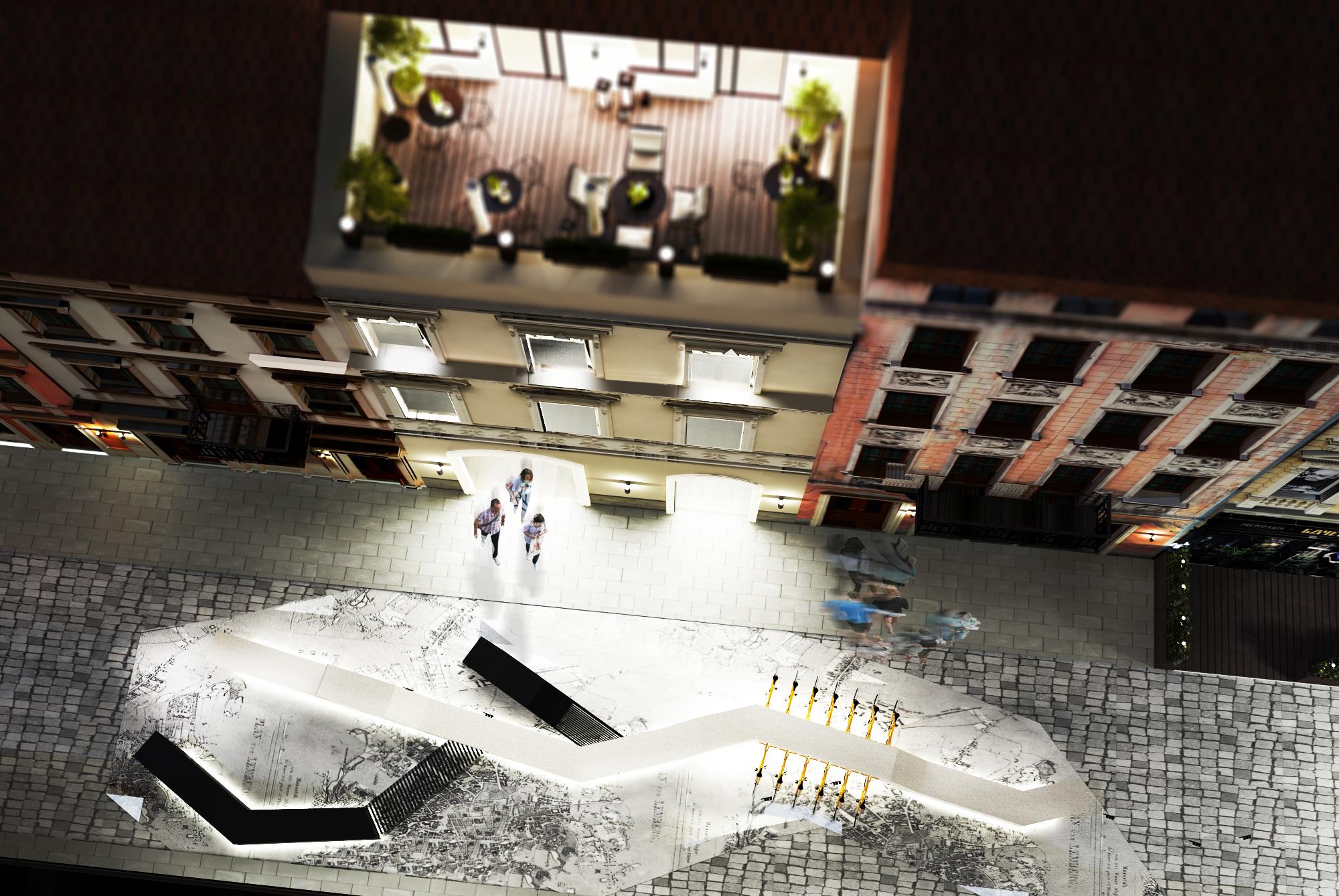"""<span>Дизайн комерційних приміщень</span>Дизайн-проект ТЦ """"Vernissage Lviv Mall"""" у м.Львів"""