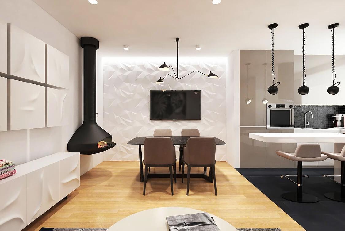 <span>Дизайн житлових приміщень</span>Дизайн-проект квартири у Zaandam, Netherlands